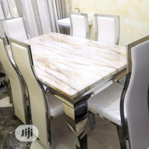 Neat Marble Dining Table   Furniture for sale in Lagos State, Ajah
