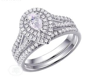 Pearl Rose Sterling Silver Wedding Rings | Wedding Wear & Accessories for sale in Delta State, Warri