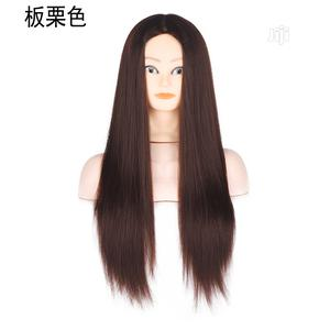 Chestnut Color Mannequin Head Wig Braided Hair | Hair Beauty for sale in Lagos State, Ikeja
