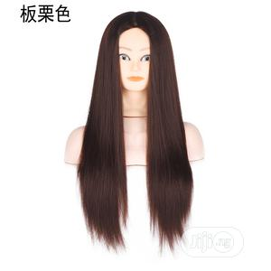 Silk Long Head Mold Chestnut Wig   Hair Beauty for sale in Lagos State, Ikoyi