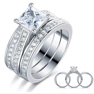 Asher Love Sterling Silver Wedding Ring Set | Wedding Wear & Accessories for sale in Delta State, Warri