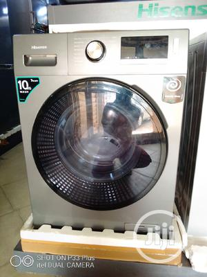 Hisense Washer & Dryer (10kg Washer/7kg Dryer) | Home Appliances for sale in Lagos State, Agege