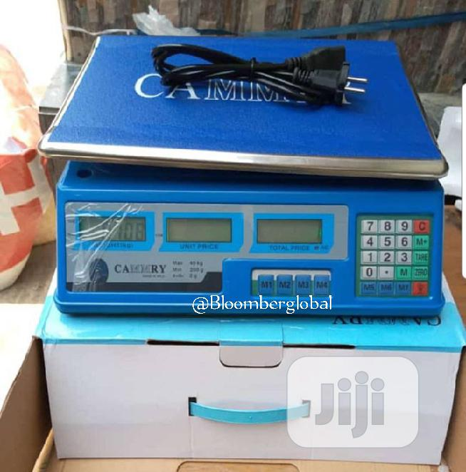 Camry Digital Scale 30kg Scale