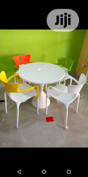 Classic and Modern Restaurant/Bar Table With 4 Chairs | Furniture for sale in Lagos State, Ojo