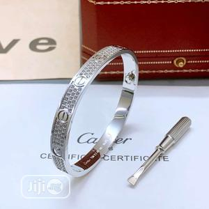 Cartier Bangle Bracelets Silver | Jewelry for sale in Lagos State, Surulere