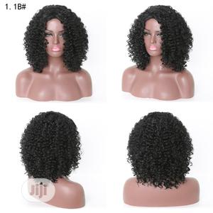 Short African Ladies Classic Human Hair Curly Wig   Hair Beauty for sale in Lagos State, Ikoyi