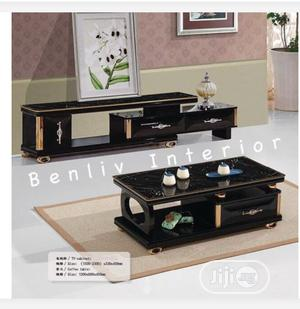 Tv Stand With Centre Table | Furniture for sale in Lagos State, Victoria Island