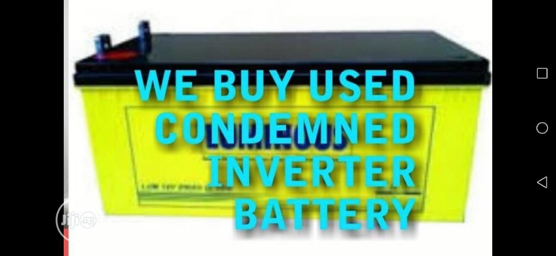 Used Inverter Battery In Lagos