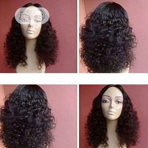 Bouncy Wave Human Hair Soft Wig With Closure | Hair Beauty for sale in Lagos State, Victoria Island
