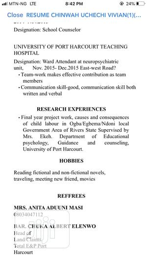 Office Assistant | Clerical & Administrative CVs for sale in Anambra State, Awka