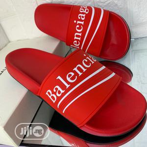 Balenciaga Pam Slide Available in Red Color Order Yours Now | Shoes for sale in Lagos State, Lagos Island (Eko)