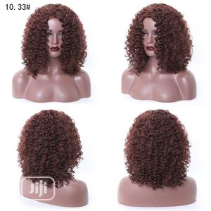 Topnotch Soft Deep Brown Curl Wave Wig | Hair Beauty for sale in Lagos State, Victoria Island