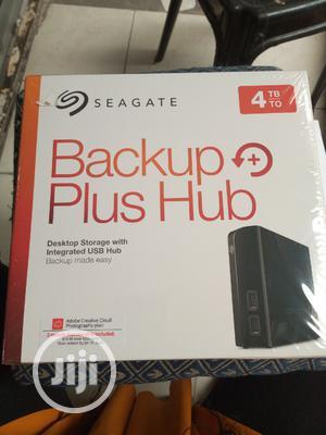 Seagate Backup Plus Hub 4TB External Hard Disk Drive | Computer Hardware for sale in Lagos State, Ikeja