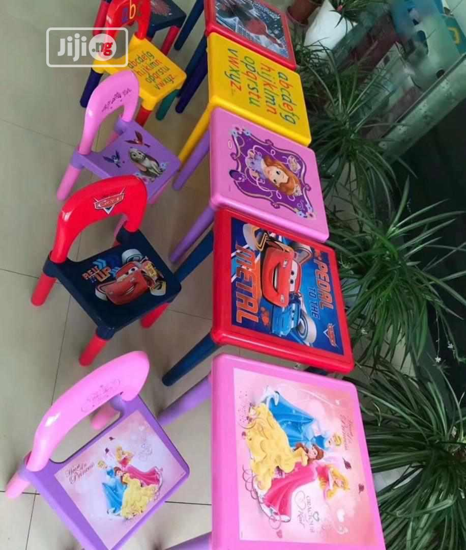 Children Chair And Table | Children's Furniture for sale in Surulere, Lagos State, Nigeria