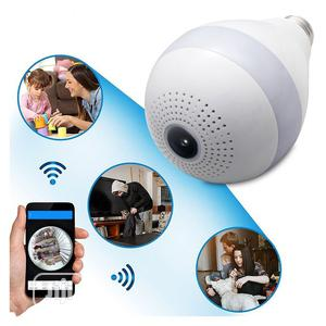 Bulb Camera - 360 Panoramic View(1yr Warranty) | Security & Surveillance for sale in Akwa Ibom State, Uyo