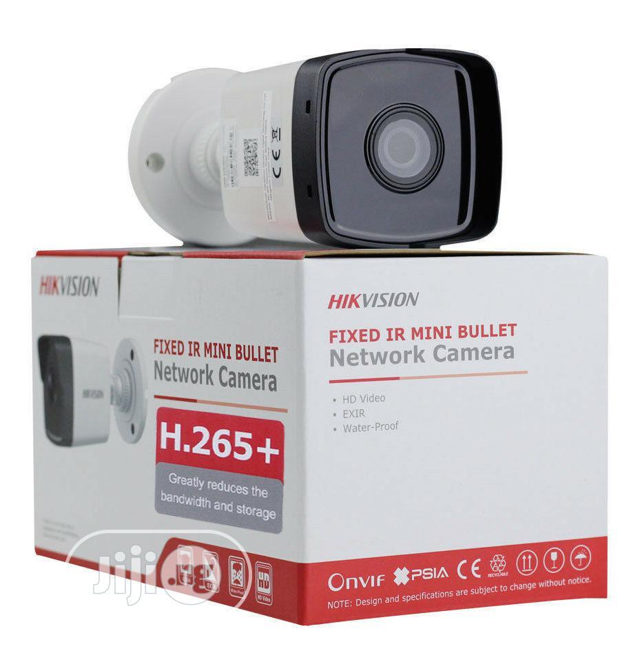Hikvision 4MP 4mm Outdoor Bullet Camera, H.265+, 30m IR