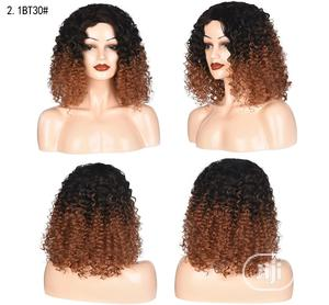 Black Light Brown Curly Sliky Wave Human Hair | Hair Beauty for sale in Lagos State, Victoria Island