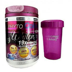 Phyto Collagen King of Whitening 19X Stem Cell L-Glutathione | Vitamins & Supplements for sale in Lagos State, Amuwo-Odofin