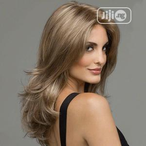European Hairstyle Soft Silky Ladies Wig | Hair Beauty for sale in Lagos State, Ikoyi