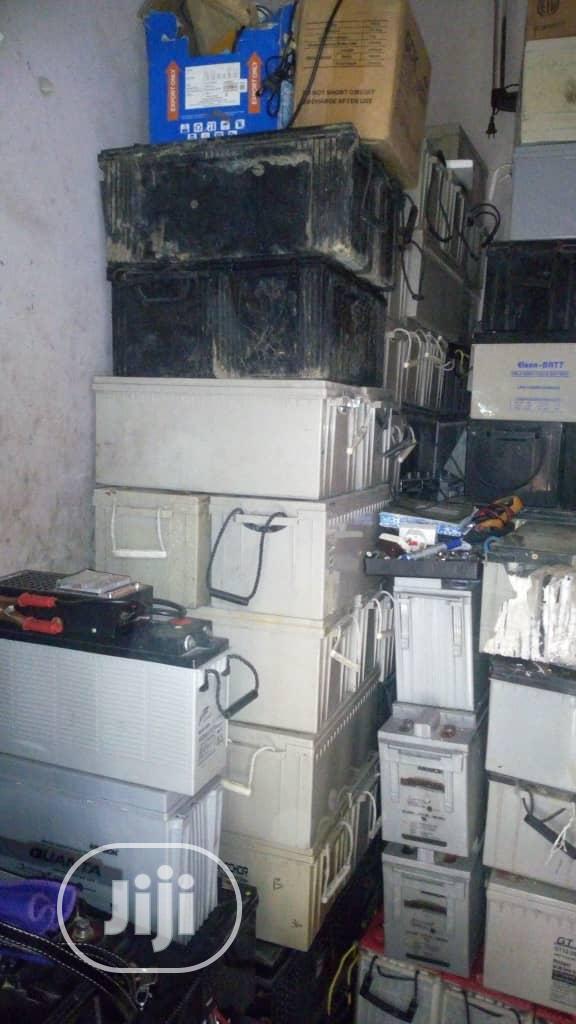 We Buy Scrap (Condemned) Inverter Batteries Mafoluku