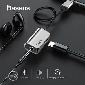 Baseus USB C Audio Cable Adapter Type C To 3.5mm Jack | Accessories & Supplies for Electronics for sale in Lagos State, Ikeja