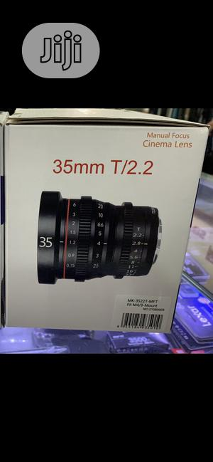 Meike 35mm T2.2 Manual Focus Cinema Lens (MFT Mount) | Accessories & Supplies for Electronics for sale in Rivers State, Port-Harcourt