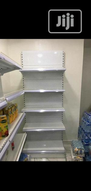 White Colour High Quality Supermarket Display Shelving | Store Equipment for sale in Lagos State