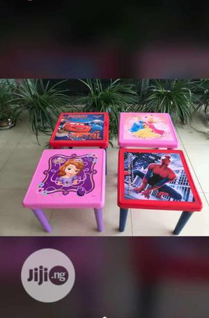 Character Children Chair And Table | Children's Furniture for sale in Lagos State, Yaba