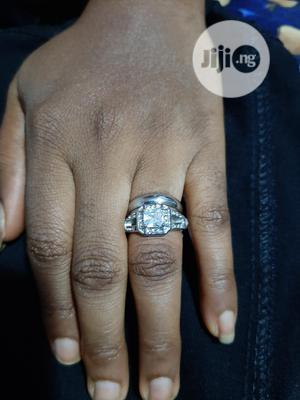 Flora Stone Steel Wedding Rings | Wedding Wear & Accessories for sale in Delta State, Warri