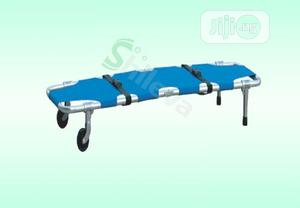 Foldable Stretcher With Tyres   Medical Supplies & Equipment for sale in Lagos State, Lagos Island (Eko)