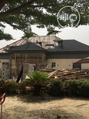 Kristin Pure Black Milano Stone Coated Roofing Sheet | Building Materials for sale in Lagos State, Ajah