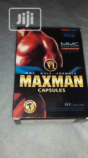 Maxman VI Gold Enlargement/ Big Size 60 Caps   Sexual Wellness for sale in Lagos State, Yaba