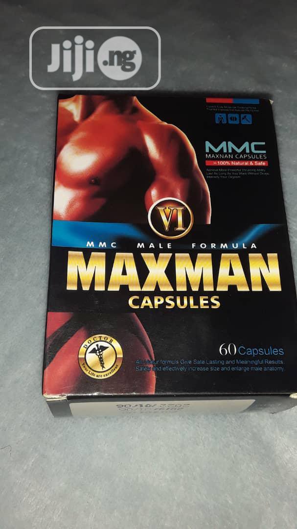 Maxman VI Gold Enlargement/ Big Size 60 Caps