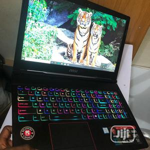 Laptop MSI GE63 7RC Raider 16GB Intel Core i7 SSHD (Hybrid) 1.5T   Laptops & Computers for sale in Lagos State, Ikeja