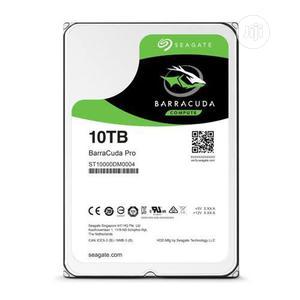 "Seagate 10tb Sata Desktop 3.5"" Hard Drive | Computer Hardware for sale in Lagos State, Ikeja"