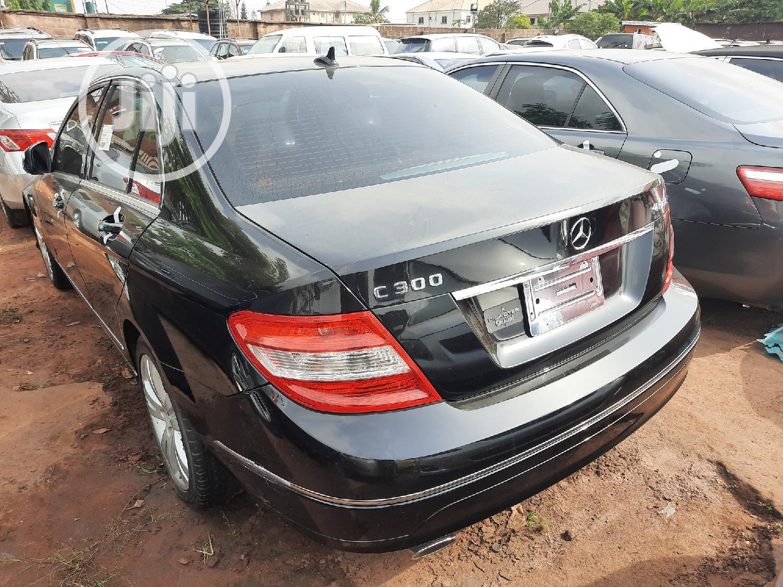 Mercedes-Benz C300 2009 Black | Cars for sale in Ikpoba-Okha, Edo State, Nigeria