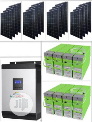 Solar Powered 5kva Inverter Installation With MONBAT Batteries | Electrical Equipment for sale in Lagos State, Lekki