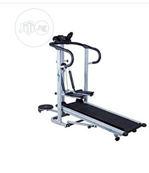 Manual Treadmill With Stepper and Twister   Sports Equipment for sale in Lagos State, Ikoyi