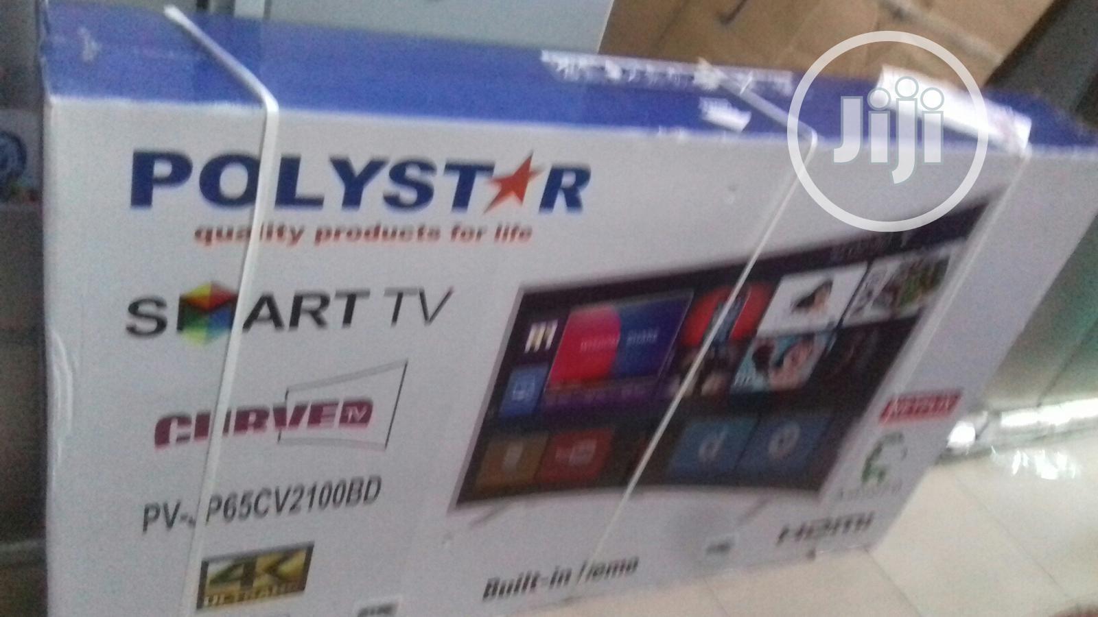 Polystar 65inch Curve Smart Tv