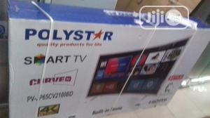 Polystar 65inch Curve Smart Tv | TV & DVD Equipment for sale in Lagos State, Alimosho