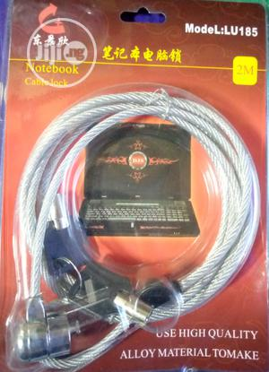 LU-185 Laptop Cable Lock   Computer Accessories  for sale in Lagos State, Ikeja