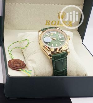 Original Leather Rolex Wrist Watch | Watches for sale in Lagos State, Lagos Island (Eko)
