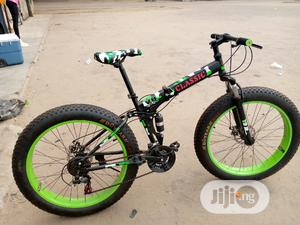 Big Tyre Folding Sport Bicycle | Sports Equipment for sale in Lagos State, Surulere
