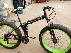 Fat Tyre Folding Sport Bicycle | Sports Equipment for sale in Oyo State, Oluyole