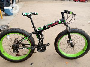 Big Tyre Sport Bicycle Folding Classic | Sports Equipment for sale in Lagos State, Ajah