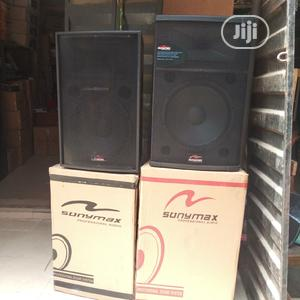 Pair of Sonymax Speakers   Audio & Music Equipment for sale in Lagos State, Ojo