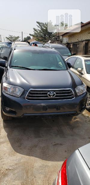 Toyota Highlander 2009 4x4 Gray | Cars for sale in Oyo State, Oluyole