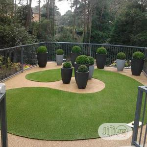 Clean & high Quality Artificial Green Grass Carpet For Home & Garden Decoration.   Garden for sale in Lagos State, Ikorodu