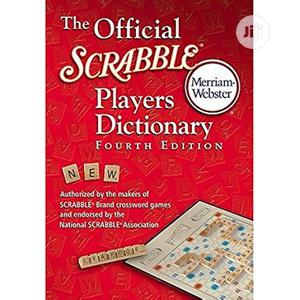 Scrabble Player Dictionary Fourth Edition Small One Hardcover | Books & Games for sale in Lagos State, Surulere