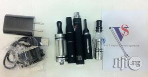 VS 4 In 1 Liquid + Wax + Dry Herbs Vaporiser E-cigarette Kits - Black   Tobacco Accessories for sale in Lagos State